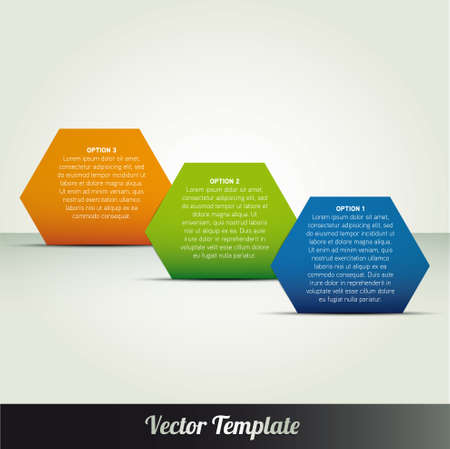 Template, vector eps10 illustration Vector