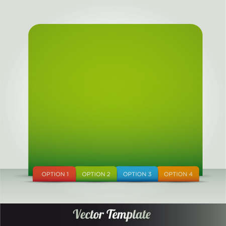Template, vector eps10 illustration Stock Vector - 18132693