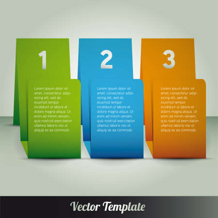 Modern design template can be used for infograph vector Vector