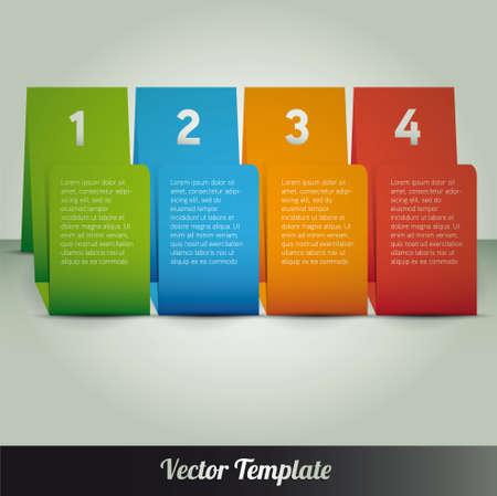 Template, illustration Stock Vector - 18541634
