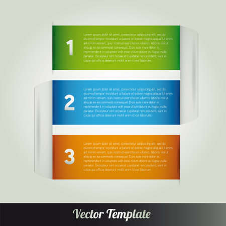 Template  illustration Stock Vector - 18687946