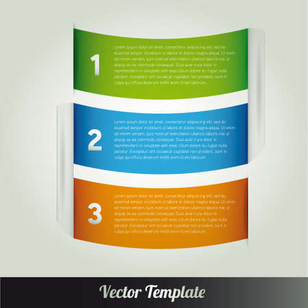 Template  illustration Stock Vector - 18687943
