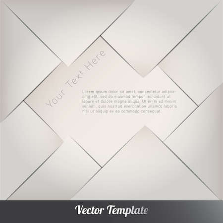 advertising space: Design template