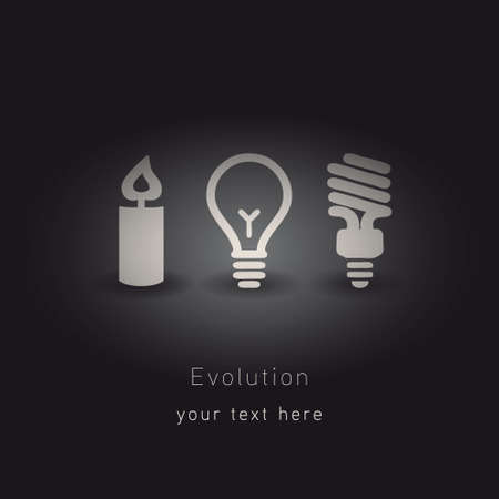 cree: evolution of lighting  Illustration