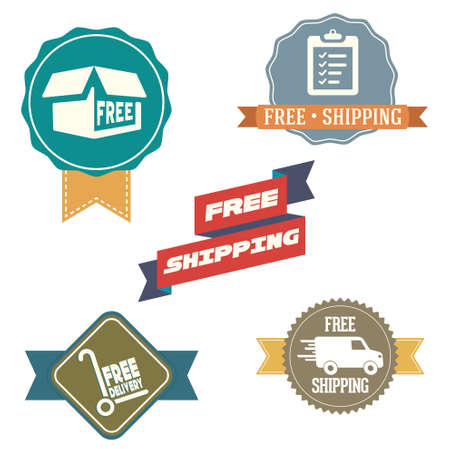 Free Shipping labels