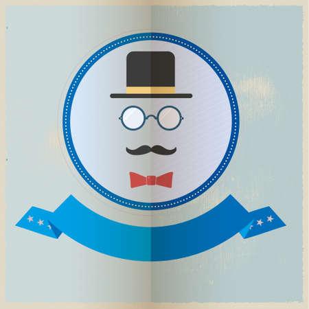 gentleman's: Gentleman vector