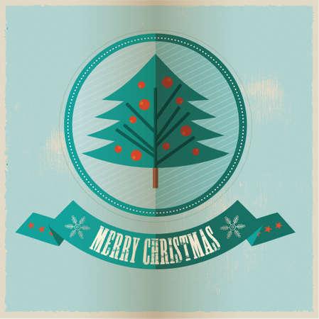 vector greeting card: Christmas Vector greeting card
