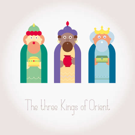 wisemen: The three Kings of Orient wisemen