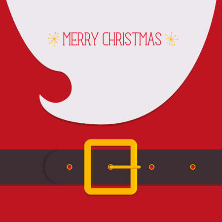 belts: Santa Claus Illustration