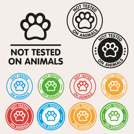 No animals testing sign icon