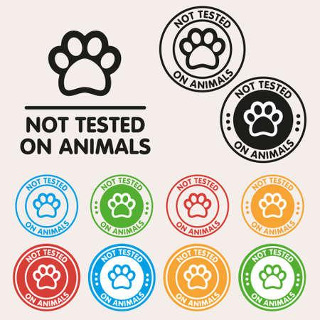testiculos: Sin icono signo pruebas animales