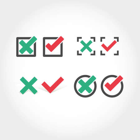 voted: Check mark icon Illustration