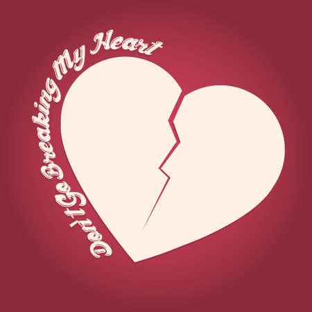 corazon roto: Icono Broken Heart