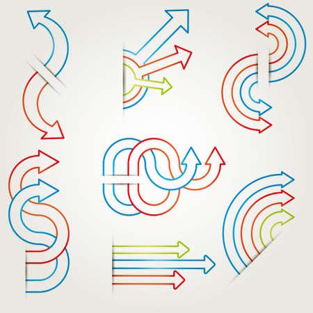 ms: infographics vector Illustration