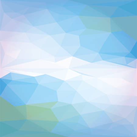 bal: Low poly Vector Abstract colorful geometric background