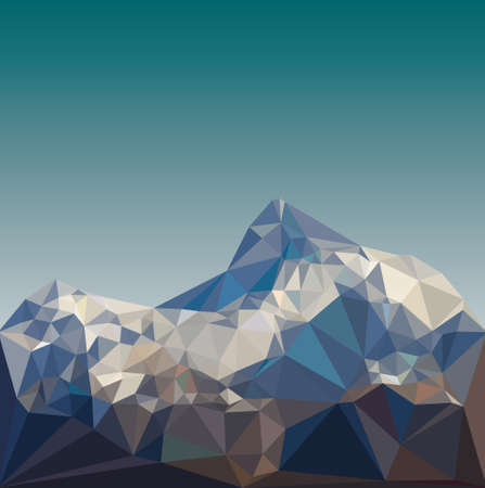 bajo paisaje poli montaña