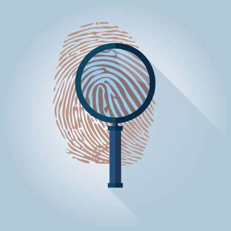 inka: Magnifying Glass and Fingerprint