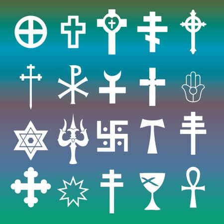 simbolos religiosos: Los símbolos religiosos en septiembre