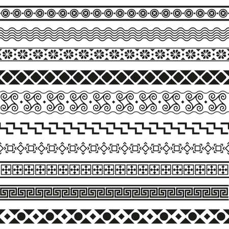 decorative element: set of borders