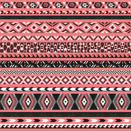chevron patterns: Seamless pattern. illustration for tribal design. Ethnic motif.