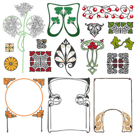 artnouveau: Art Ornaments
