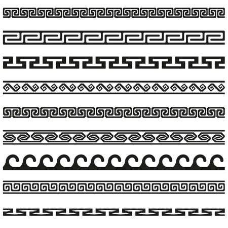 border designs: Old greek border designs