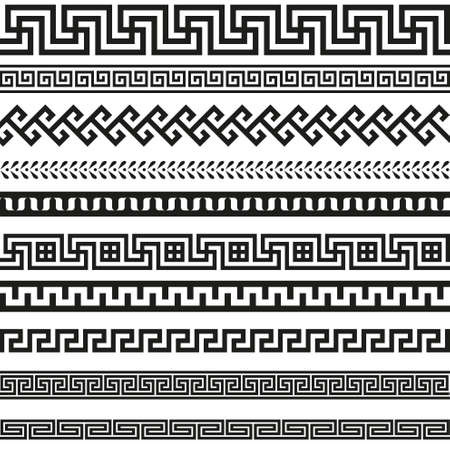 ancient greek: Old greek border designs