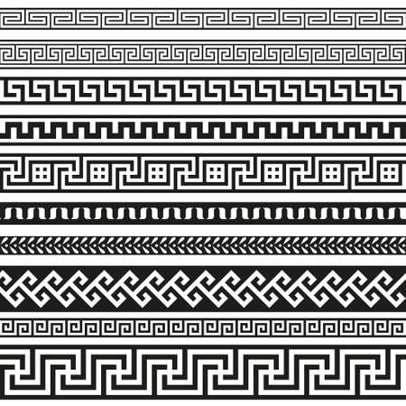simple border: Old greek border designs