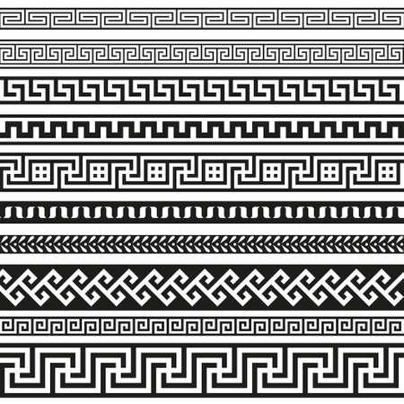 Oude Griekse grens ontwerpen