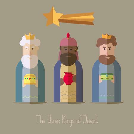 Los Reyes Magos de Oriente sabios