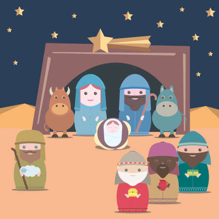 frankincense: Vector Nativity