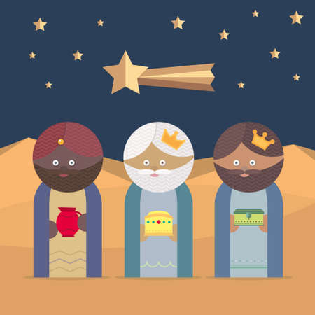 melchior: The Three Kings of Orient, wise men, three magi
