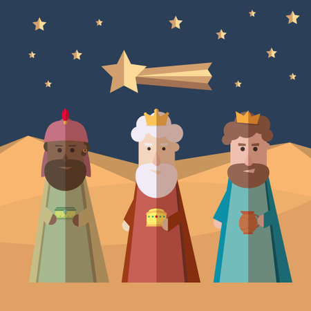 melchor: The Three Kings of Orient, wise men, three magi