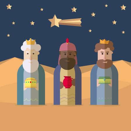 caspar: The Three Kings of Orient, wise men, three magi