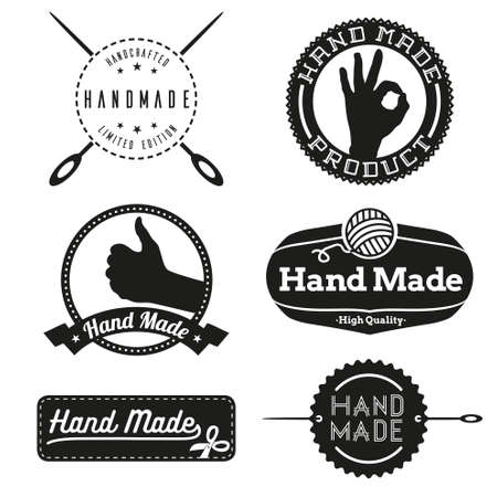 Hand Made logo design logos