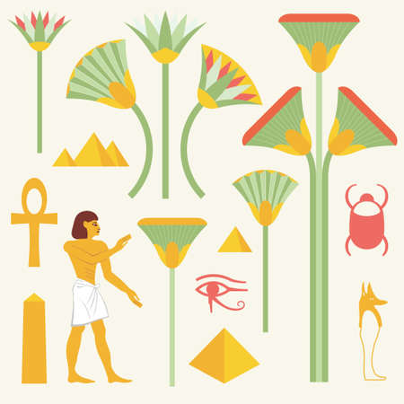 scribes: Egyptian symbols and signs