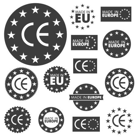made to order: Made in European Union labels badges and stickers