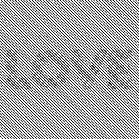 sixties: Op art Optical striped seamless LOVE Illustration