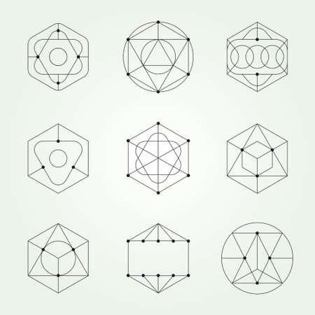 Sacred geometric - Variable line