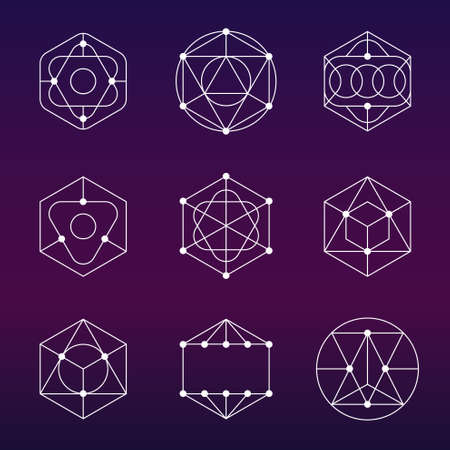 variable: Sacred geometric - Variable line