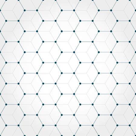 hexagonal: Abstract hexagonal geometric background
