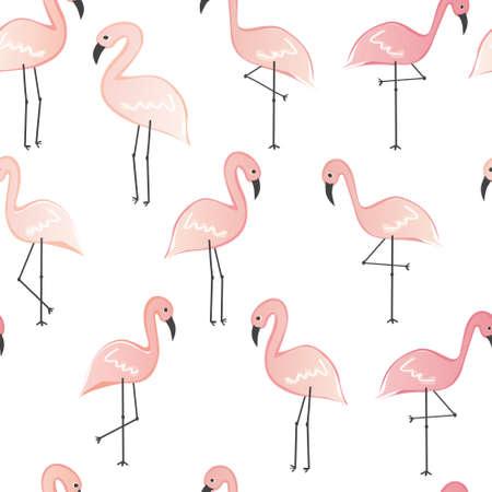 flamingos: flamingos seamless pattern