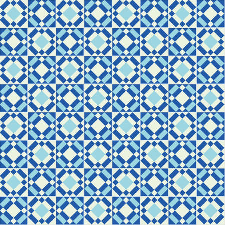 pattern vintage: Traditional ornate tiles portuguese tiles. Vintage seamless pattern. Abstract background vector