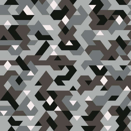 seamless vector camouflage pattern in style, textile pattern pixelated, abstract background