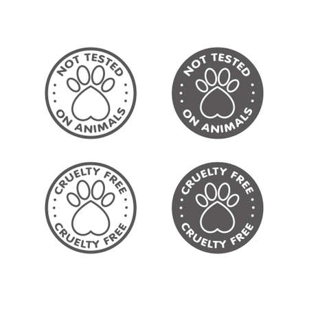 tested: Cruelty free - not tested on animals sign icon symbol