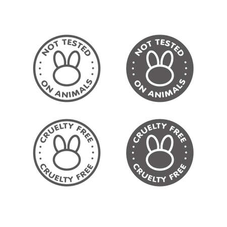 cruelty: Cruelty free - not tested on animals sign icon symbol