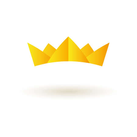 crown logo: Crown king icon logo symbol vector Illustration