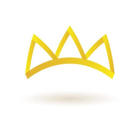 coronal: Crown king icon symbol vector