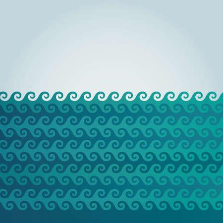 smooth: Vector illustration wave background