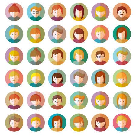 people: People Icons Illustration